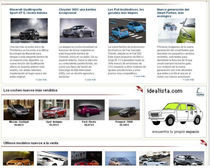 Publicidad coches